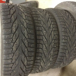 235 55 18 nokian winter tires (3 ONLY)