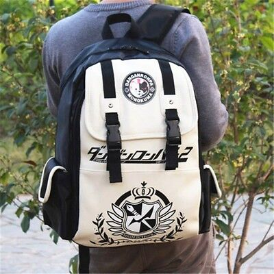 Dangan Ronpa danganronpa Monokuma Anime School Backpack New Shoulder Bag