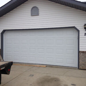 16x7 garage doors package only windows doors