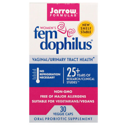 Jarrow Formulas, Women's Fem Dophilus, 30 Veggie -
