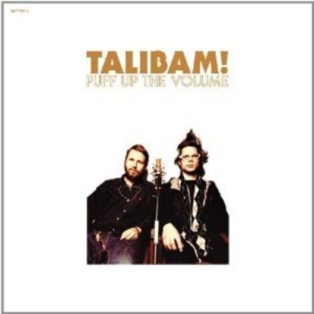 "TALIBAM! ""PUFF UP THE VOLUME"" CD NEU"