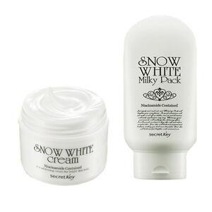 SECRET-KEY-Snow-White-Cream-50g-Snow-White-Milky-Pack-200g-Korea
