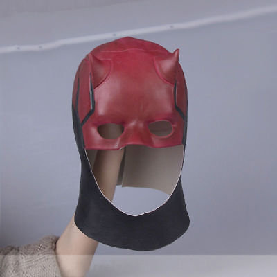 New Daredevil Matt Murdock Cosplay Mask Halloween Superhero Latex Prop Mask - Daredevil Halloween Mask