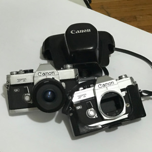 Canon FT QL Film Camera + Extra One