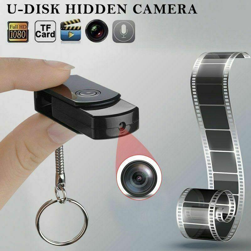 Mini Hidden USB Flash Drive Pinhole Camera U Disk HD DVR Video Recorder Keychain