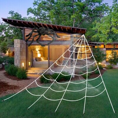 Halloween Decoration Giant Spider Web Party Props Decor - Halloween Spider Web
