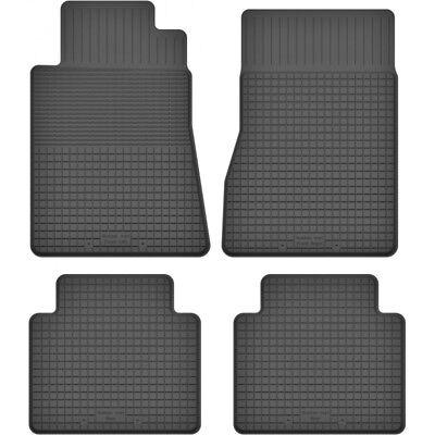 Gummimatten Fußmatten 1.5 cm Rand Mercedes S-KL. W140 (1991-1998) 4-teile -Set