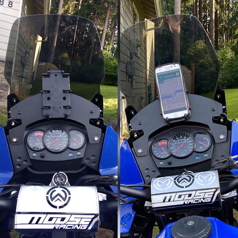 Fit for KAWASAKI 2008 2009 2010 2011 2012 2013 KLR650 2014 2015 2016 2017 2018 KLR650 Height Adjust Lifter Windshield Motorcycle Rally Dash Kit Xitomer Aftermarket Rally Dash Kit