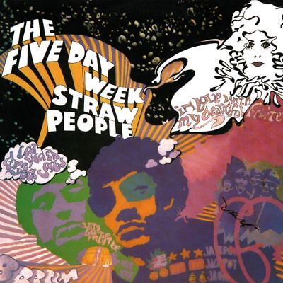 The Five Day Week Straw People(Vinyl LP)Self Titled-RSD 2018-M/M