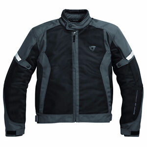 BLOUSON REV IT! AIRWAVE JACKET BLACK/ANTHRACITE  MEDIUM