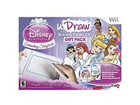 Wii U-draw Disney Princess Game Tablet
