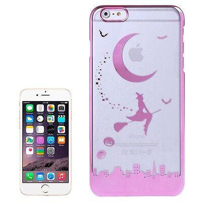 e Apple iPhone 6 PLUS & 6S PLUS Halloween Hexe in Pink (Iphone 6 Halloween)