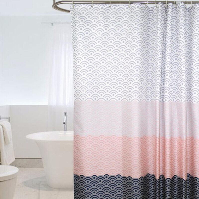180 180cm Bathroom Shower Curtain Set