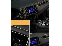 5M Gold AUTO ACCESSORIES CAR Universal Interior Decorative Strip CHROME Shiny