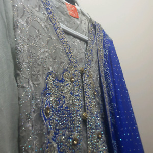 Beautiful heavy gown M/L for eid $200 obo