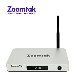 Zoomtak T8H 2gig ram media streaming tv box