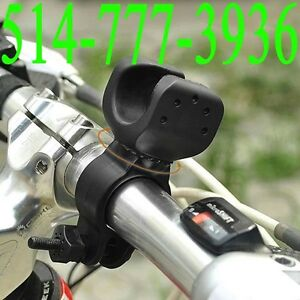 Bike Bicycle Flashlight Mount Clip Rotate 360 Degree Head Lamp