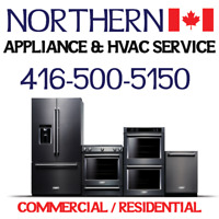 APPLIANCE INSTALLATIONS & REPAIRS- ALL MAKES 416-500-5150