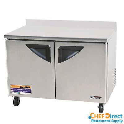 Turbo Air Twr-48sd-n Super Deluxe 48 Double Door Worktop Refrigerator