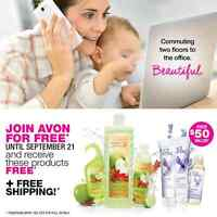 Join Avon for FREE! You have nothing to lose