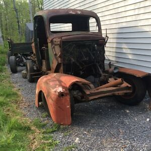 1947 to 1952 Ford and Mercury truck parts