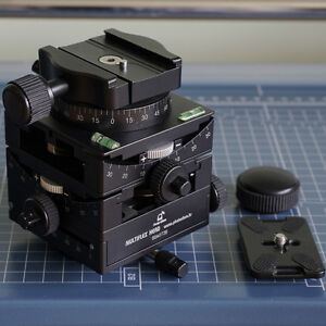 Photoclam MultiFlex Tripod Cube Gear Head