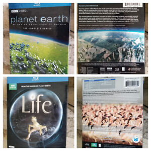 BBC Video - Planet Earth / Life - Blu-ray 4-Disc Sets - Like New