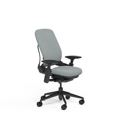 New Large Steelcase Leap Plus Adjustable Desk Chair - Buzz2 Alpine Fabric 500 Lb