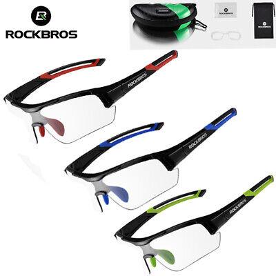 ROCKBROS photochrome Gläser im freien Radfahren Sport MTB Bicyclel Sonnenbrille