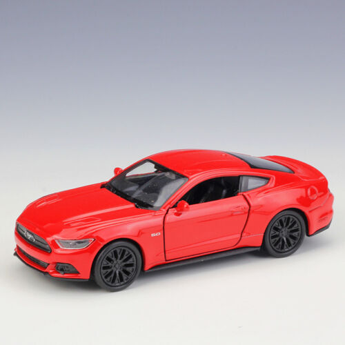 Welly 1:36 2015 Ford Mustang GT Metal Diecast Model Car New in Box Red