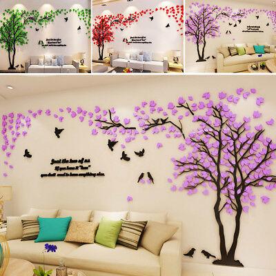 iesiger Baum Paar Wandtattoo Wandaufkleber Zimmer Wandkunst (Diy Moderne Kunst)