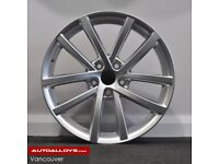 """18"""" Vancouver style alloy wheels and tyres (5x112) Suits most VW & Seat models"""