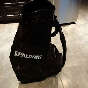 Spalding Black Golf Club Bag Kitchener / Waterloo Kitchener Area image 3