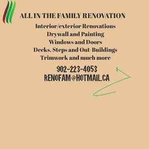 ALL IN THE FAMILY RENOVATION  DISCOUNT