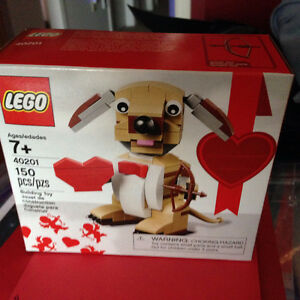 LEGO Seasonal Holiday Valentine's Cupid Dog 40201 - Brand New in Cambridge Kitchener Area image 1