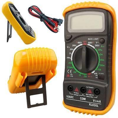 Polimetro multimetro tester voltimetro amperimetro profesional Digital MAS830