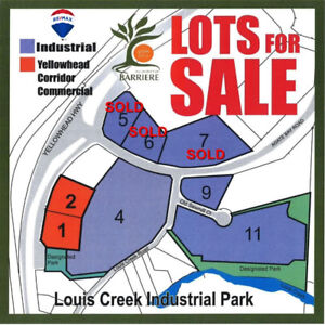 PRIME LOCATION! LARGE INDUSTRIAL & COMMERCIAL LOTS...!