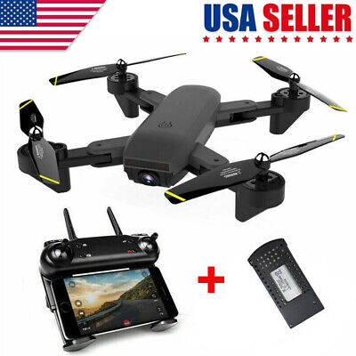 Drone Selfie FPV WIFI HD Camera Foldable Aircraft Quadcopter Toys Mobile Control