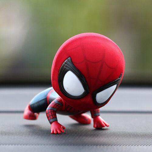 New Cute Spiderboy Bobble Head Figure Car Accessories ...