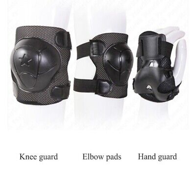 6/7PCS Kids Girls Boys Safety Protective Knee/Elbow/Wrist Guard Gear Pad Set