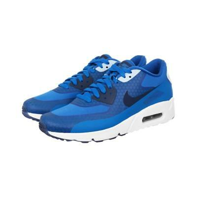 NIKE AIR MAX 90 ULTRA 2.0 SE 876005 400 BLUE JAY/OBSIDIAN NAVY/WHITE -