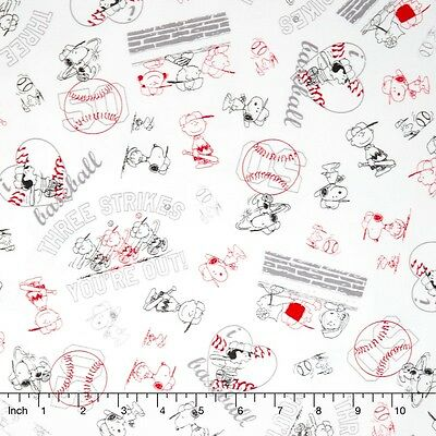 Snoopy Peanut All Stars Character Line Drawing 100% cotton fabric by the yard](All Peanuts Characters)