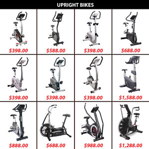 Cardio Dual Bicycle Magnetic Air Bikes Upright Pedal Pedals Bike