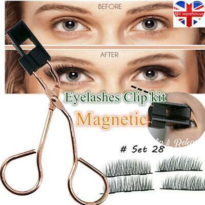 Magnetic Lashes Clip Eyelashes kit 8D Applicator Clip Magnetic Eyelash Curler