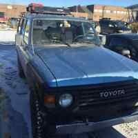 1983 Toyota Land Cruiser 2f gas