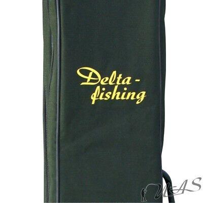 DELTA FISHING Rutentasche 4 Fach 150 cm Futteral Rutenfutteral Angeltasche
