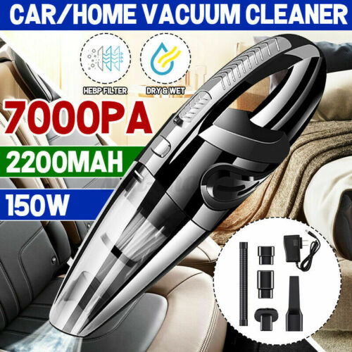 Cordless Car Vacuum Cleaner Handheld Quick Charge Wet&Dry strong Suction Duster
