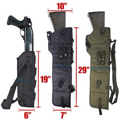 Shotgun Carrying Case - Tactical Rifle Scabbard Rifle Shotgun Military Case Shoulder Carry Bag Hunting