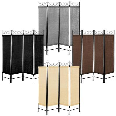 Paravent 4-teilig Raumteiler Trennwand Spanische Wand Raumtrenner