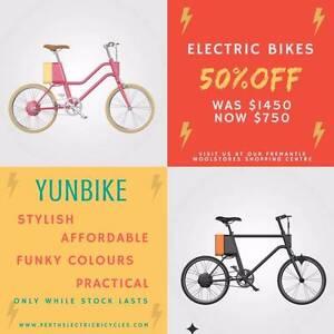 Electric Bike Sale! 50% off Yunbikes Fremantle Fremantle Area Preview